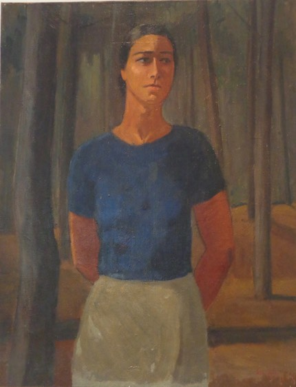Odette BOYER-CHANTOISEAU  Autoportrait 1941