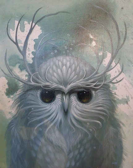 « Snow owl » de Jeff Soto